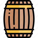 barrel, carnaval, german, october, oktoberfest icon