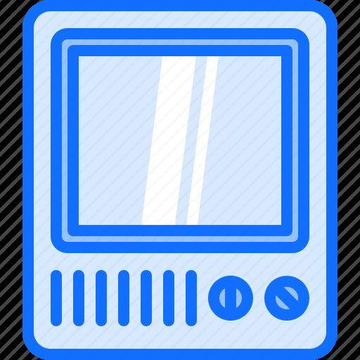appliance, device, electronics, retro, television, tv icon