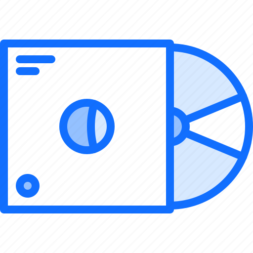 appliance, box, data, device, disk, electronics, retro icon