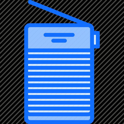 Appliance, device, electronics, music, radio, retro, sanction icon - Download on Iconfinder