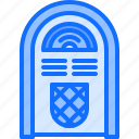 appliance, device, electronics, jukebox, record, retro, vinyl icon