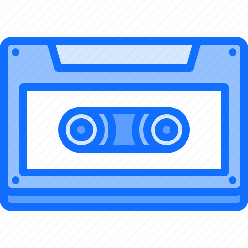 Appliance, cassette, device, electronics, music, retro icon - Download on Iconfinder