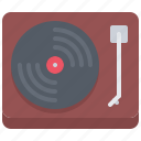 appliance, device, electronics, record, retro, turntable, vinyl