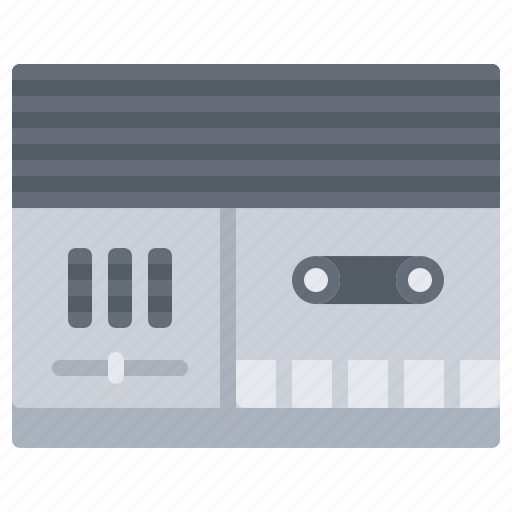 Appliance, device, electronics, music, player, record, retro icon - Download on Iconfinder