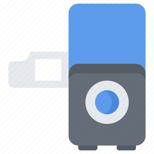Appliance, device, electronics, filmstrip, projector, retro icon - Download on Iconfinder