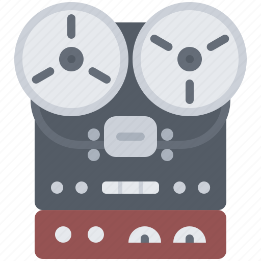 appliance, device, electronics, player, record, retro icon