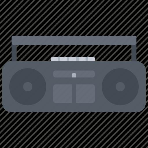 appliance, cassette, device, electronics, player, record, retro icon
