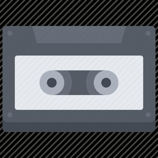appliance, cassette, device, electronics, music, retro icon