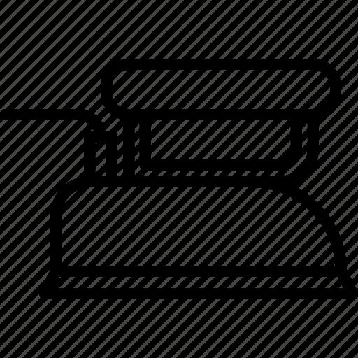 Appliance, device, electronics, iron, ironing, retro icon - Download on Iconfinder