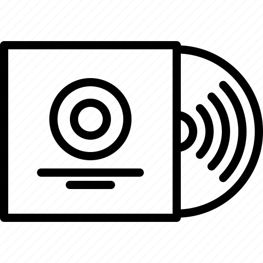 Appliance, device, electronics, music, record, retro, vinyl icon - Download on Iconfinder