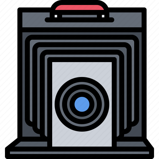 Appliance, camera, case, device, electronics, photo, retro icon - Download on Iconfinder