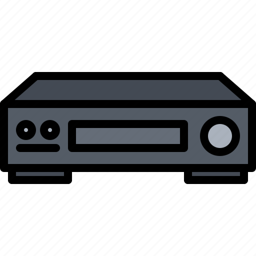 Appliance, device, electronics, recorder, retro, video icon - Download on Iconfinder