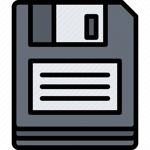Appliance, data, device, diskette, electronics, information, retro icon - Download on Iconfinder