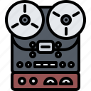 appliance, device, electronics, player, record, retro