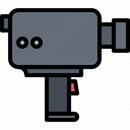 Appliance, camera, device, electronics, retro, video icon - Download on Iconfinder