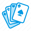card, casino, game, leisure, poker icon