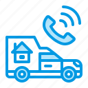car, relocation, transfer icon