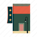 bar, beer, hotel, motel, pub, restaurant, shopping icon
