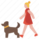 pet, animal, dog, veterinary, tags, military icon