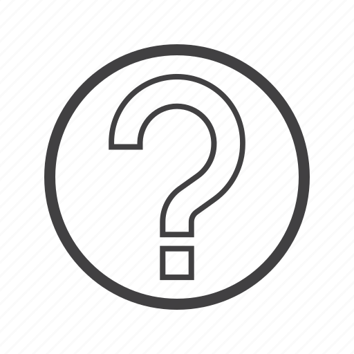 about, mark, question icon
