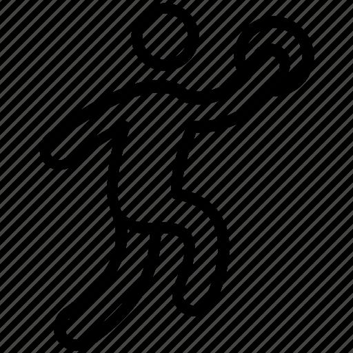 Handball Olympic Game Olympic Sports Olympics Event Sports Logo Icon