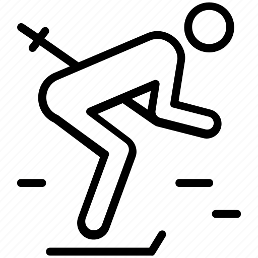 figure skiing, olympics game, skating, snow skiing, winter olympics icon