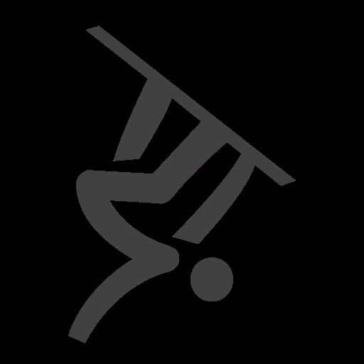 air, big, olympic, snowboard icon