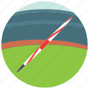 athletics, javelin, olympics, pole, sports, throw icon
