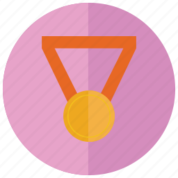 bronze, medal, sports, third, win icon