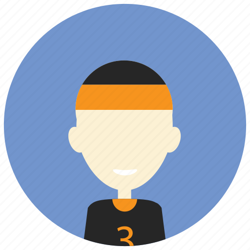 Compete, headband, number, player, runner, sports icon - Download on Iconfinder