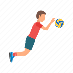 beach, olympic, player, soccer, sport, sports, volleyball icon