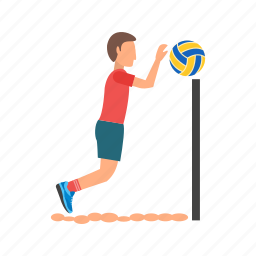 beach, olympics, player, sand, summer, team, volleyball icon