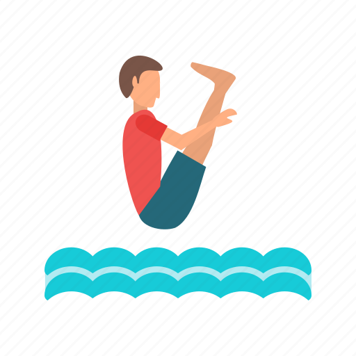 blue, diving, olympic, people, pool, race, swimming icon