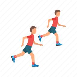 athletics, field, olympic, running, sport, sprint, track icon