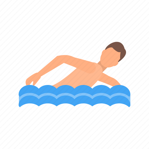 competition, olympic, pool, swimmer, swimming, track, water icon