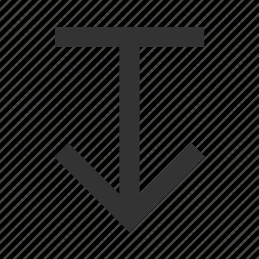 arrow, download, downloading, saving icon