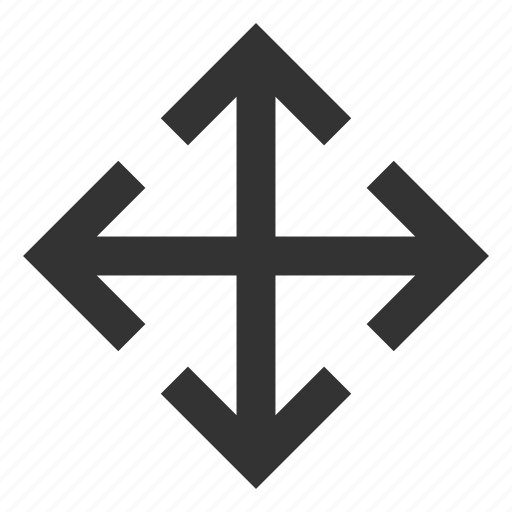 arrow, expand, in, zoom icon