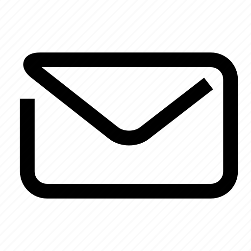 contact, email, envelope, oneline icon