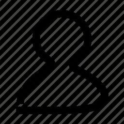 oneline, profile, user icon