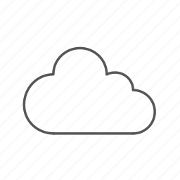 cloud, data, network, online, storage, upload, web icon