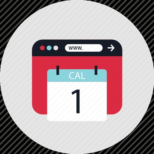 calendar, event, one icon