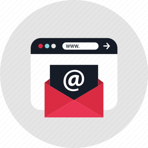 contact, email, mail icon