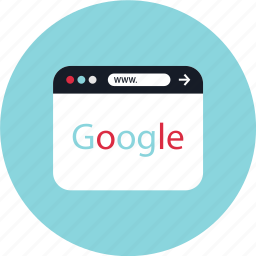 engine, google, search icon