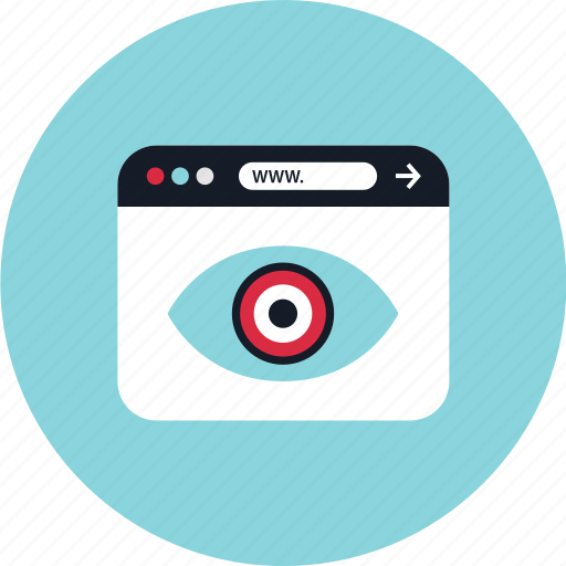 eye, look, online, views icon