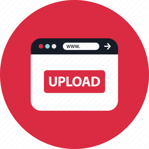 now, upload, youtube icon