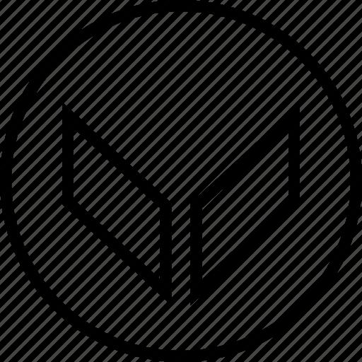 arrow, double, down, point icon