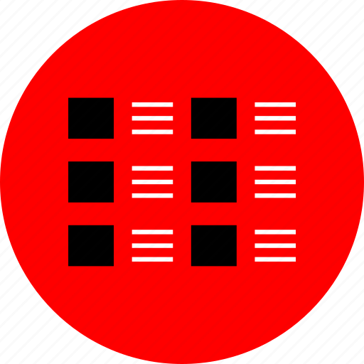 abstract, internet, layout, web icon