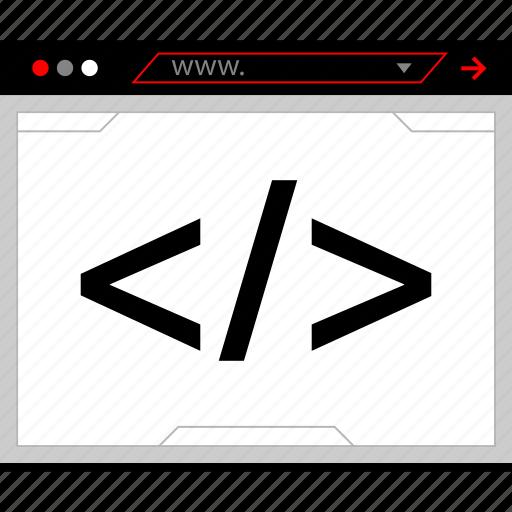code, html, java, javascript icon