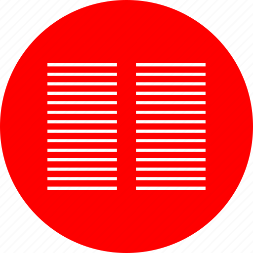 columns, two, web icon