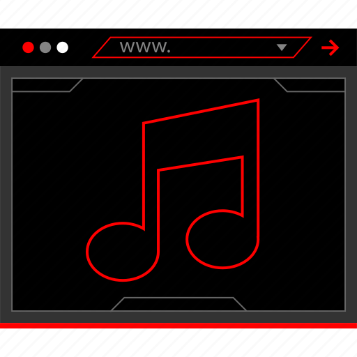 music, note, play icon